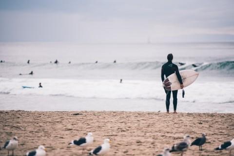 Wellenreiten in der europäischen Region