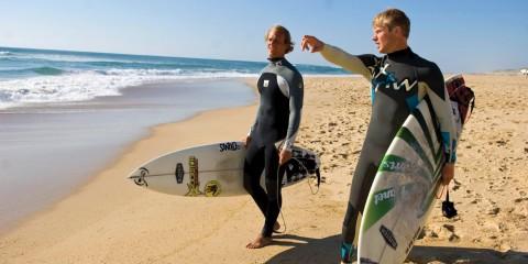 Wellenreiten im Dezember