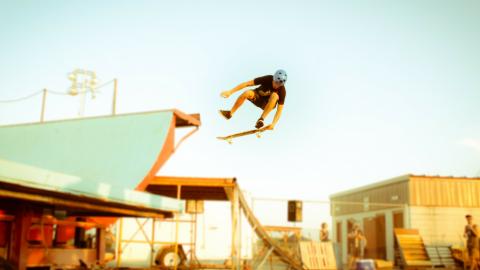 Balance Training für Surfer – mit dem Skateboard