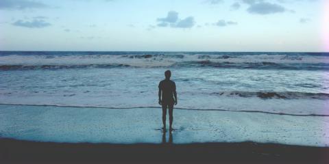 Alleine auf Surfreisen