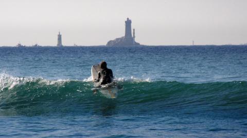 Surfen in der Bretagne