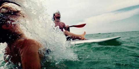 Muskeln aufbauen – Fit auf dem Surfboard