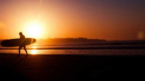Surfen – Eine Religion?
