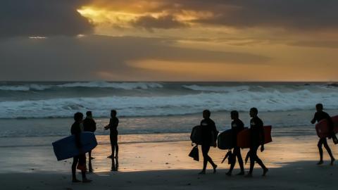 Spielregeln beim Surfen