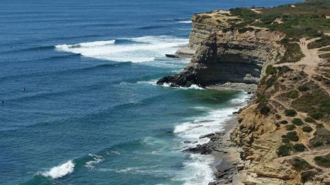 Surfen und Surfen lernen in Ericeira, Portugal