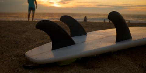 Wie funktionieren eigentlich die Finnen am Surfboard?
