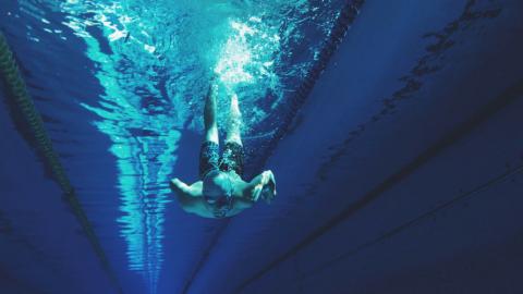 Schwimmtraining für Surfer