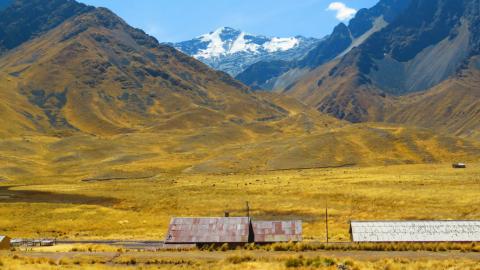 Reisen und Surfen in Peru