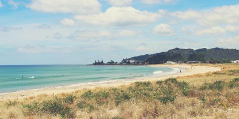 Surfen in Raglan auf Neuseeland