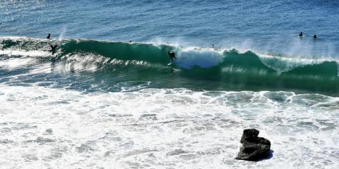 Surfen lernen im Winter