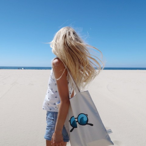 Stofftaschen gegen Meeresverschmutzung
