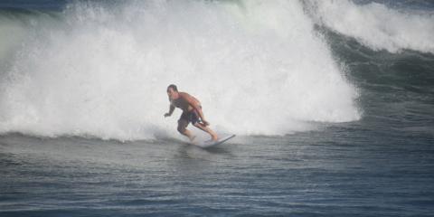 Surfen mit dem Shortboard