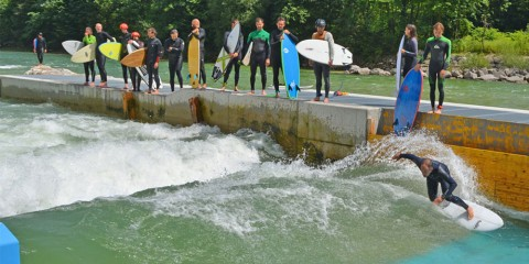 Spotcheck The Wave in Ebensee an der Traun