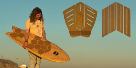 Nachhaltige Tailpads & Footpads aus Kork